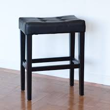 24 Inch Chairs With Arms Palazzo 26 Inch Saddle Counter Stool Black Hayneedle