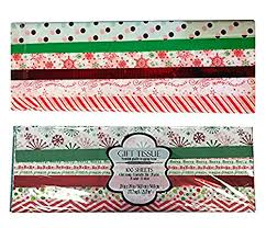 mylar wrapping paper kirkland signature christmas printed pattern gift