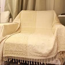 couverture canapé vintage couverture de canapé coloré jeté de sofa lit en polyester