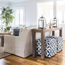blue cube living room poufs design ideas