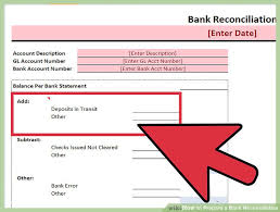expert advice on how to prepare a bank reconciliation wikihow