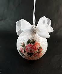 our shabby chic ornament custom