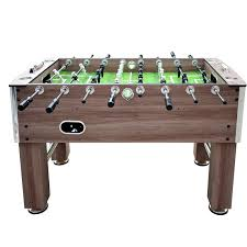 space needed for foosball table hathaway games driftwood foosball table reviews wayfair