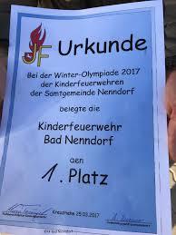 Samtgemeinde Bad Grund Freiwillige Feuerwehr Bad Nenndorf