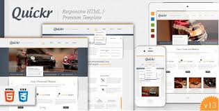 30 free and premium html css responsive website templates ginva