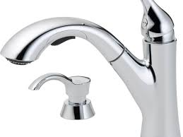 delta chrome kitchen faucets bathroom faucets shop delta kessler chrome handle pull out