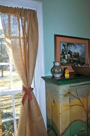 burlap and teal curtains unusual best window treatments ideas on
