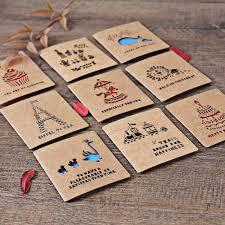 100cards 100krafts envelope creative folding handmade hollow out