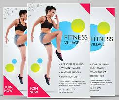 fitness flyer template fitness flyer fitness flyer templates free premium templates km