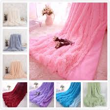 Furry Blanket Online Buy Wholesale Fur Blankets From China Fur Blankets