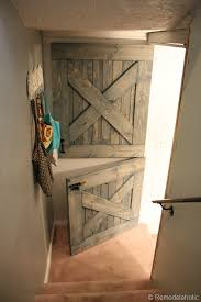 How To Make A Sliding Barn Door by Remodelaholic Master Bedroom Makeover With Sliding Barn Door