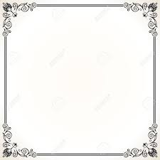 free borders for invitations home office ornate border stock illustrations cliparts and