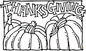 thanksgiving pumpkins coloring free printable coloring pages