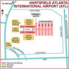 atlanta international airport map atlanta international airport