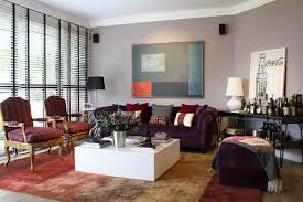 Living Room With Purple Sofa 20 Engrossing Purple Sofa In The Living Room Home Design Lover