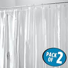 Magnetic Shower Curtain Liner Sfoothome 36 Inch Wide X 72inch Hotel Fabric Shower Curtain