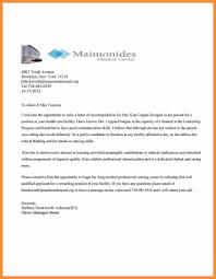 Bio Letter Sample Recommendation Letter Medical Bio Letter Format