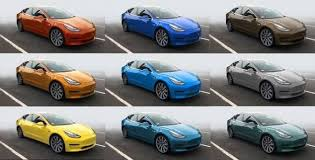 here are some 9 new color requests for tesla model 3 torque news
