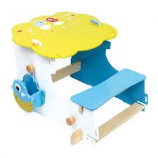 bureau enfant 4 ans bureau en bois évolutif 4 en 1 ajustable en hauteur selon l âge de