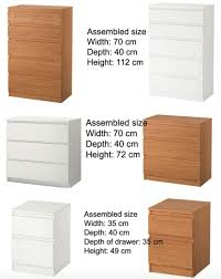 Kullen Dresser 3 Drawer by Ikea Kullen Chest Of 3 Drawers Oak Effect 70x72 Cm Amazon Co
