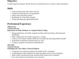 brilliant medical resume sample objective tags medical resumes