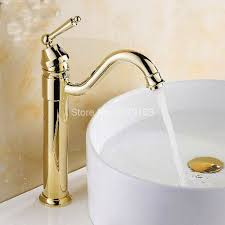 Polished Gold Bathroom Faucets by Online Get Cheap Kitchen Sink In Gold Aliexpress Com Alibaba Group