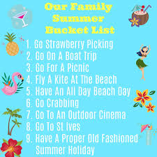 Would Love To Do Things by 20 Things To Do With Kids This Summer Our Family Summer Bucket