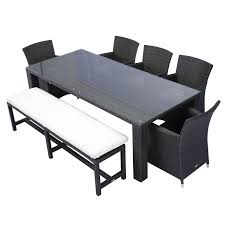 all weather dining table source outdoor st tropez all weather wicker patio dining set