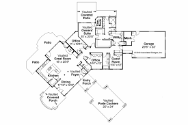 house plans with porte cochere craftsman springwater associateds
