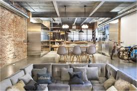 dazzling industrial style kitchen and foodies for good taste spain
