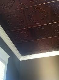 faux copper ceiling tiles lowes home design ideas