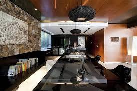 posh home interior posh home office design in black and white furniture