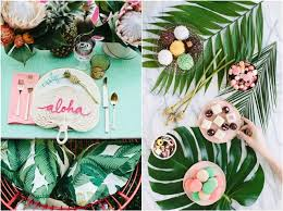 themed wedding shower 30 chic aloha tropical bridal shower ideas deer pearl flowers