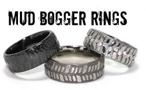 bog the wedding band wow new wedding rings wedding rings that look like tires