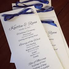 Flat Wedding Programs Wedding Programs Paper Chic Boutique Wedding Invitations
