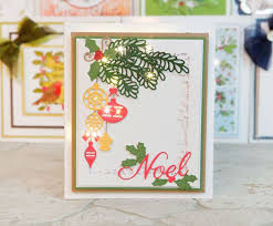 Paper Craft Christmas Cards - 12 best tattered lace melded dies images on pinterest create and