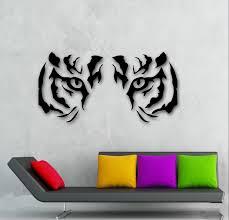 popular tiger wall stickers buy cheap tiger wall stickers lots home wall stickers vinyl decal animal tiger raptor tribal eyes wall decor mural free shipping