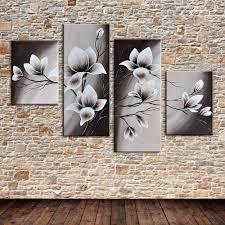 online get cheap canvas flower wall mural painting aliexpress com