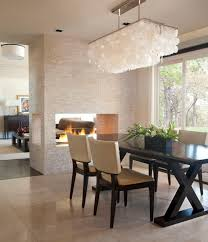 Rectangular Light Fixtures For Dining Rooms Gorgeous Themed Dining Room Idea With Rectangular