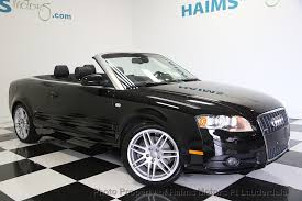 audi cabriolet convertible 2009 used audi a4 2 0t cabriolet quattro at haims motors serving