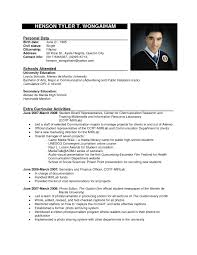 Sample Format Of Resume For Job Application by Sample Format Of Resume