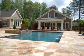 Pool House Plans Ideas Pool House Design For Tropical House Home Design And Home