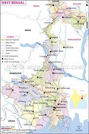 Bay Of Bengal Map India Tourist Map