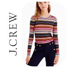 tippi sweater j crew medium knit multi colored sweaters for ebay