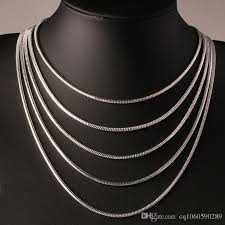 chain necklace woman images 2018 1mm snake chain fashion 925 silver smooth snake chain jpg