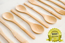 e4ulife eco friendly bamboo silverware