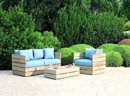 fabrication canapé palette bois canape exterieur en palette fabriquer salon de jardin en palette de