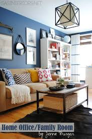 a newly designed home office family room jenna burger
