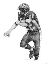 how to draw a football step by step sports pop culture free