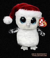 tinsel ty beanie boo snow owl